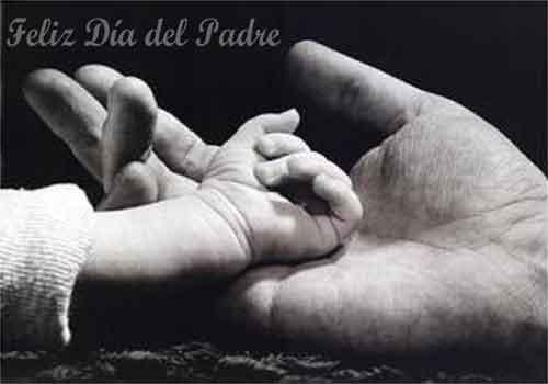 Tarjeta del dia del Padres-manos