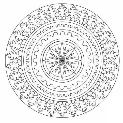 Mandalas colorear  imprimir descargar  (17)