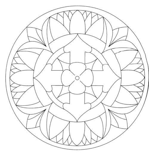 Mandalas colorear  imprimir descargar  (19)