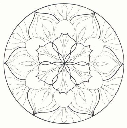Mandalas colorear  imprimir descargar  (20)