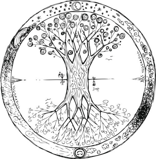 Yggdrasil: the celtic tree of life