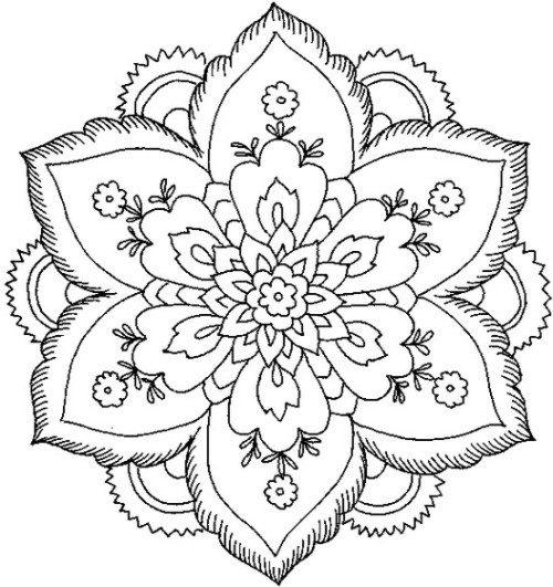 Mandalas colorear  imprimir descargar  (5)