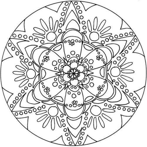 Mandalas colorear  imprimir descargar  (9)