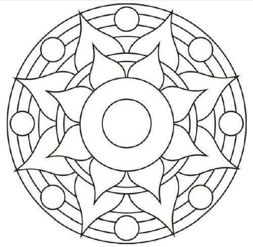 Mandalas para Niños  (33)