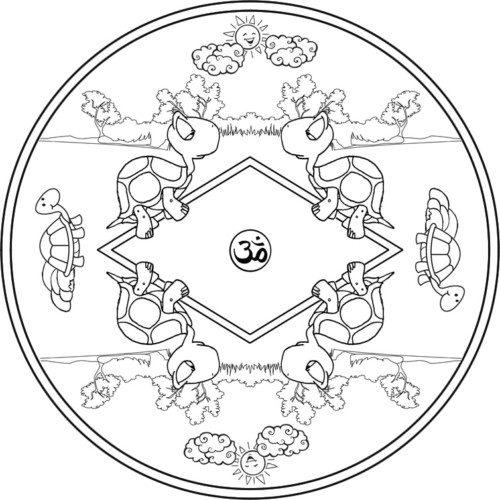 Mandalas para Niños  (8)