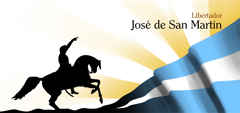 tarjeta para el aniversario de la Muerte de San Martín
