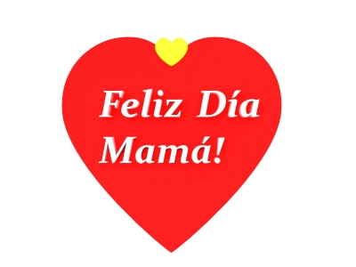Día de la Madre flores y corazones (9)