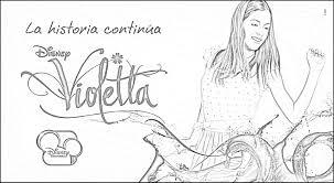 Dibujos de Violetta para imprimir y colorear  Todo imgenes