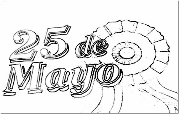 25 De Mayo Para Niños Colorear 31 Todo Imágenes