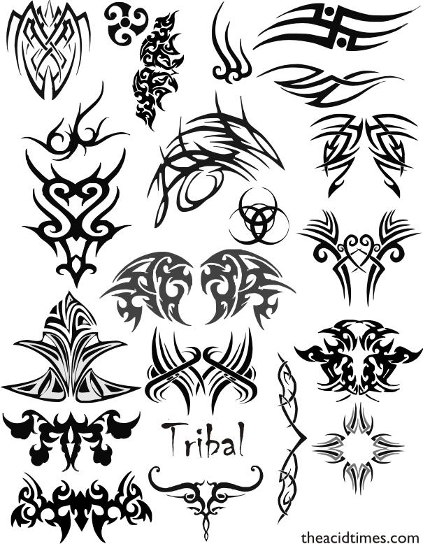 Catalogo De Tatuajes diseños de tatuajes – tribales -maoríes- los mejores sitios de