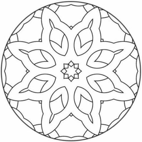Mandalas colorear  imprimir descargar  (18)