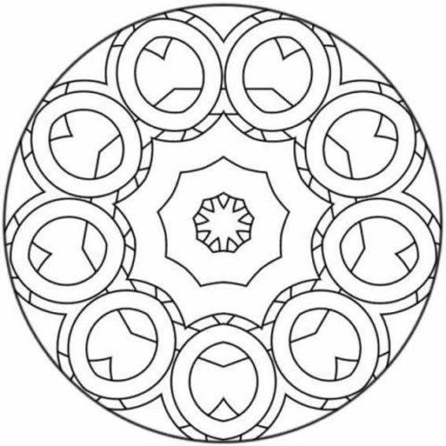 Mandalas colorear  imprimir descargar  (23)