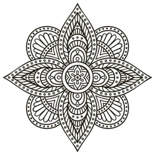Mandalas colorear  imprimir descargar  (4)