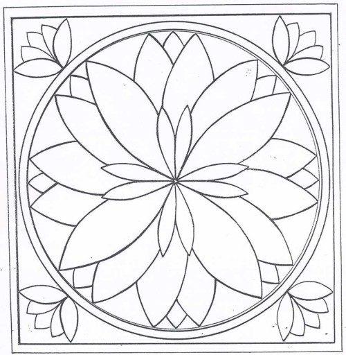 Mandalas colorear  imprimir descargar  (6)