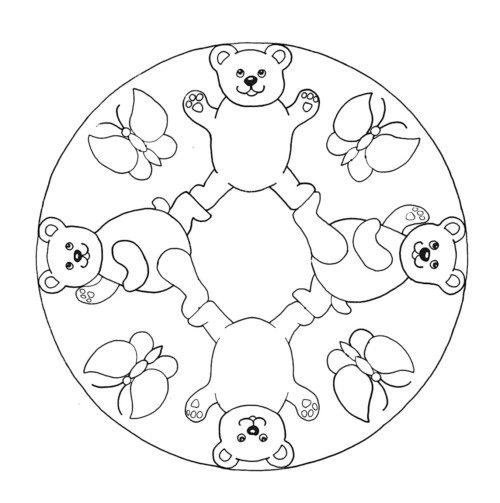 Mandalas para Niños  (6)
