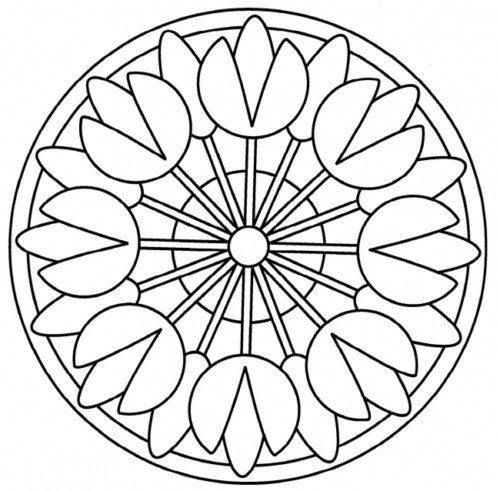 Imágenes para imprimir y colorear de Mandalas | Todo imágenes