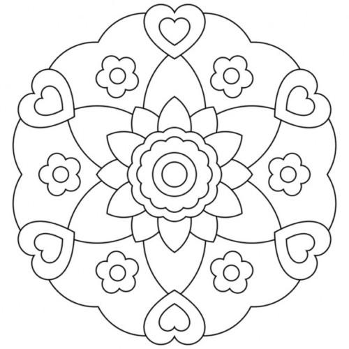 Mandalas para Niños (9) | Todo imágenes