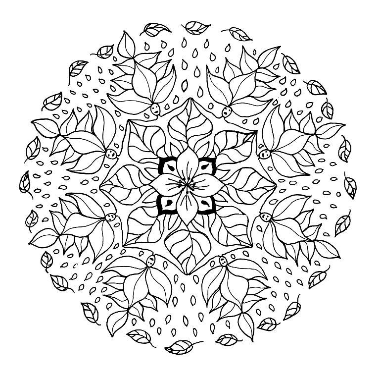 Imágenes Para Imprimir Y Colorear De Mandalas Todo Imágenes