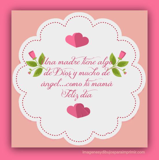 Tarjetas para imprimir o enviar del Día de la Madre | Todo imágenes