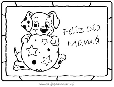 Dibujos para pintar e imprimir para el Día de la Madre | Todo imágenes