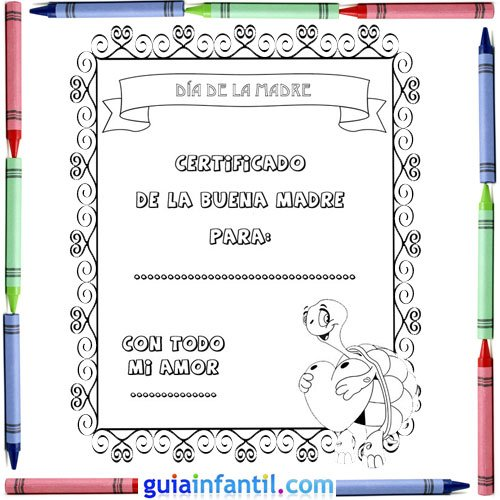 Diplomas Y Tarjetas Para Regalar A Mamá Todo Imágenes