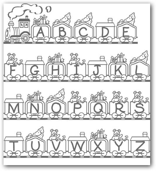 Atractivo Un Alfabeto Para Colorear Imágenes - Páginas Para Colorear ...