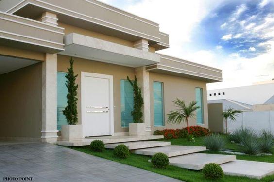 Imgenes de Fachadas de casas bonitas modernas rsticas de un
