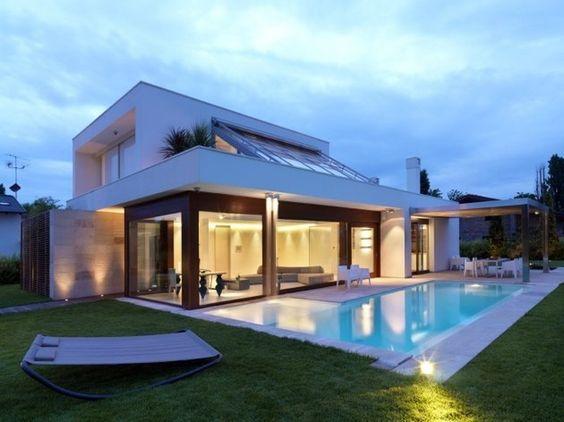 Im genes de fachadas de casas bonitas modernas r sticas for Decoracion minimalista definicion