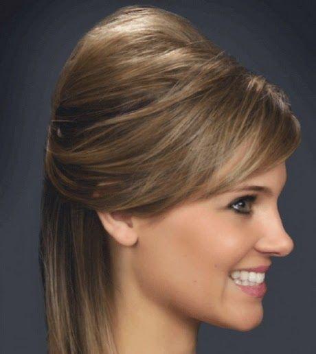 hay peinados que vienen muy bien no solo porque son acordes a la ocasin sino tambin a la temperatura del da el uso de un excesivo flequillo quizs no - Peinados Lisos