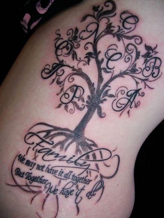 60 Imágenes De Tatuajes Originales De Letras Y Frases Para Mujeres