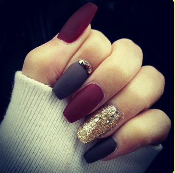 Acrylic Nails Trend Fall 2016: Imágenes Con Diseños De Uñas Largas Decoradas, Ideas Art
