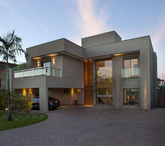 60 Bonitas Fachadas De Casas Minimalistas Sencillas Y Modernas - Fachadas-minimalistas