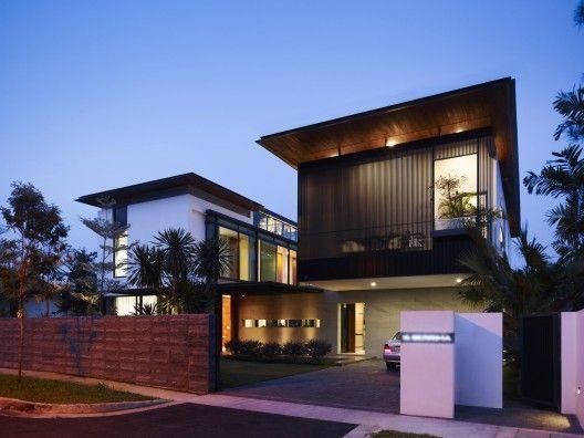 60 Bonitas Fachadas de casas minimalistas sencillas y modernas