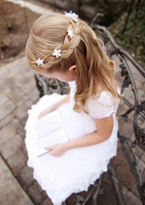 Imágenes De Peinados Para Niñas Recogidos Y Con Trenzas