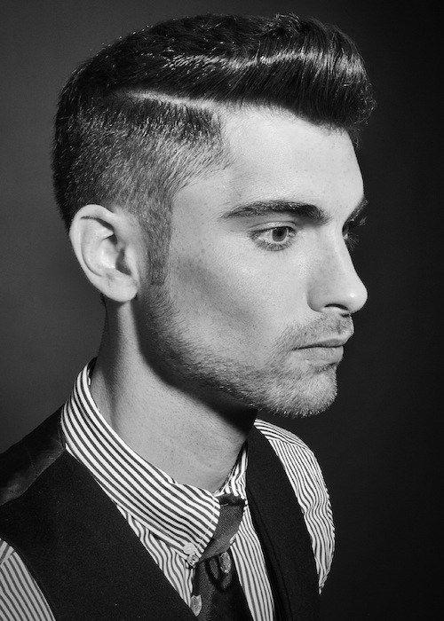 Cortes de cabello retro para hombre