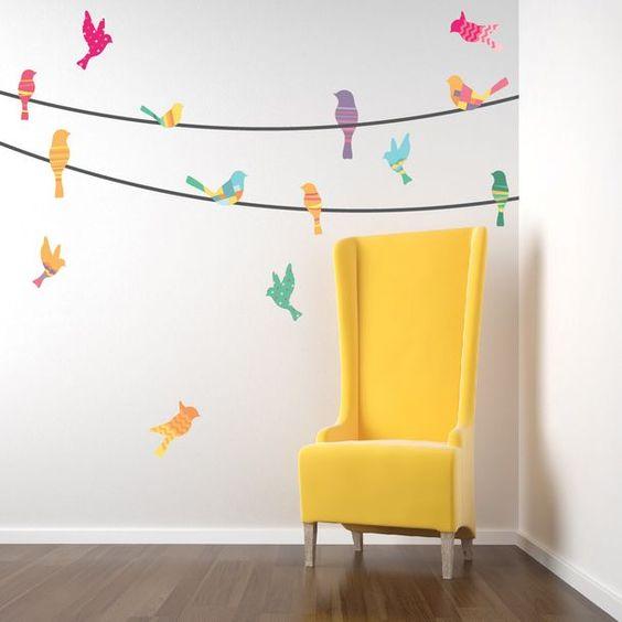 Hermosos vinilos decorativos infantiles para dormitorios for Vinilos dormitorios infantiles