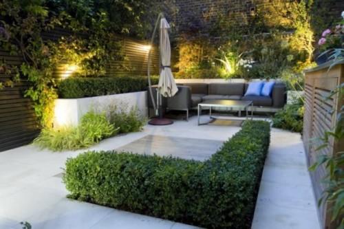 Decoración de jardines pequeños y modernos bellísimos | Todo imágenes