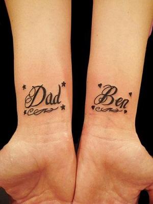 70 Tatuajes de Nombres para hombres mujeres y parejas Todo imgenes
