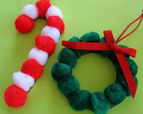 Imágenes con manualidades de Navidad fáciles para niños | Todo imágenes