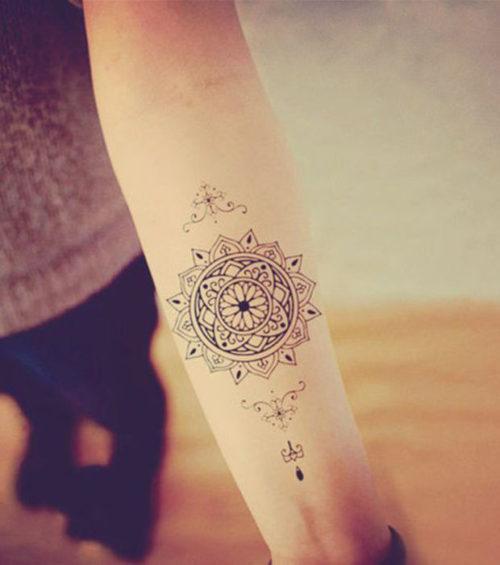 Tatuajes De Atrapasueños Y Mandalas Para Mujeres 90 Imágenes