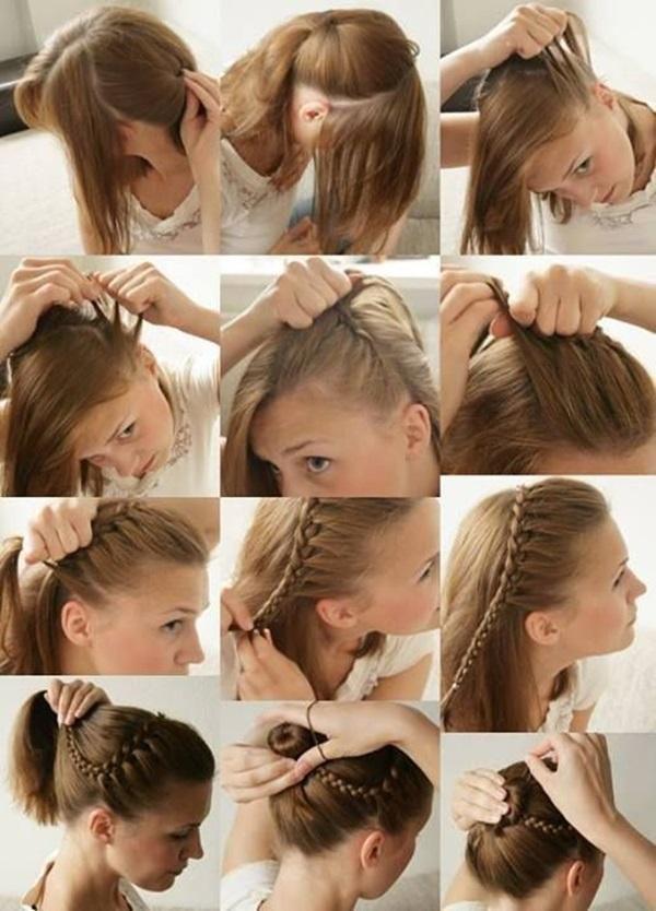Peinados Faciles De Hacer Bonitos Y Sencillos Para Cabello Corto
