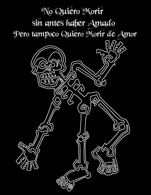 Imagenes De Calaveras Mexicanas Con Frases Tatuajes Y Dibujos