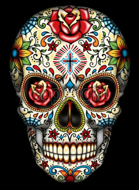 Imágenes De Calaveras Mexicanas Con Frases Tatuajes Y Dibujos