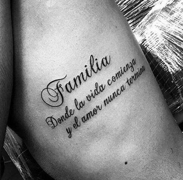 Tatuajes De Frases Cortas Para Mujeres Y Hombres Con