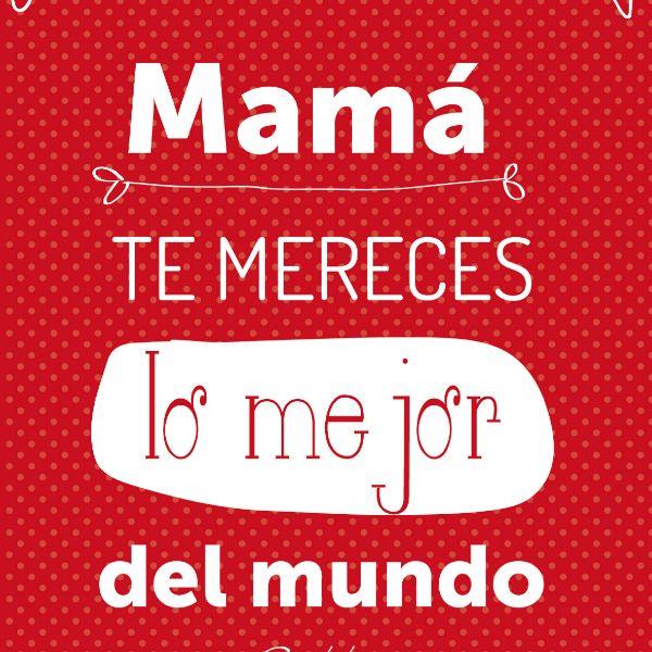 Imágenes Del Día De La Madre Hermosas Con Mensajes Y Frases Para