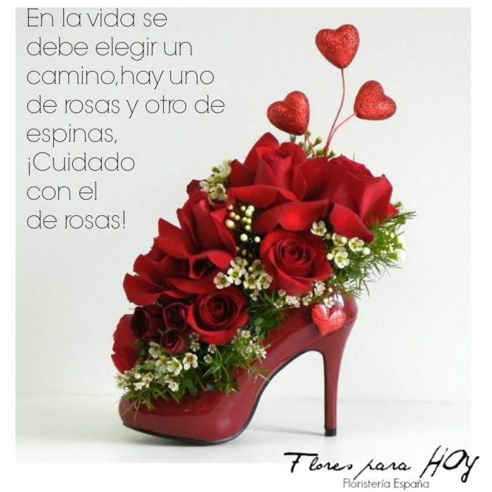 Imágenes De Rosas Bonitas Originales Con Frases Para