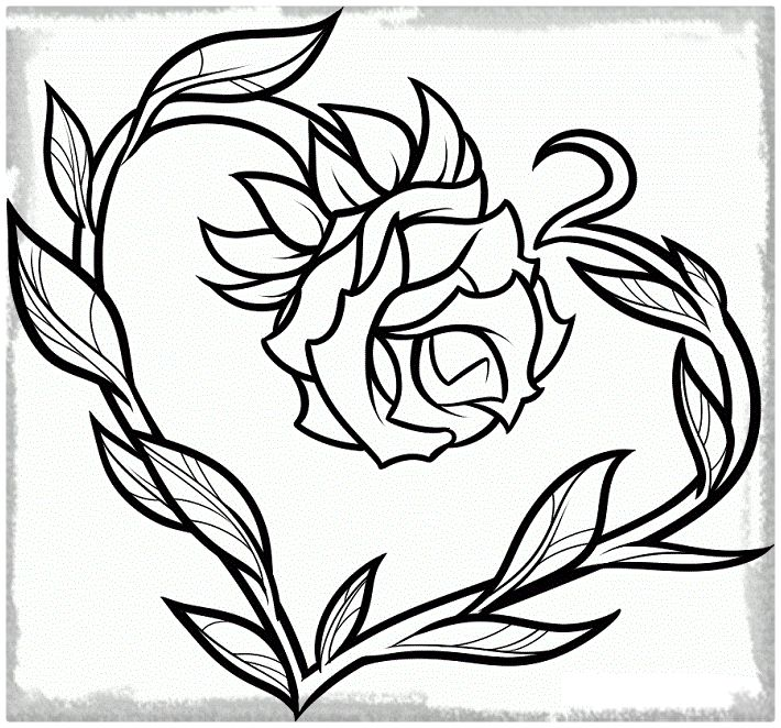 Imágenes De Rosas Bonitas Originales Con Frases Para Dibujar Y