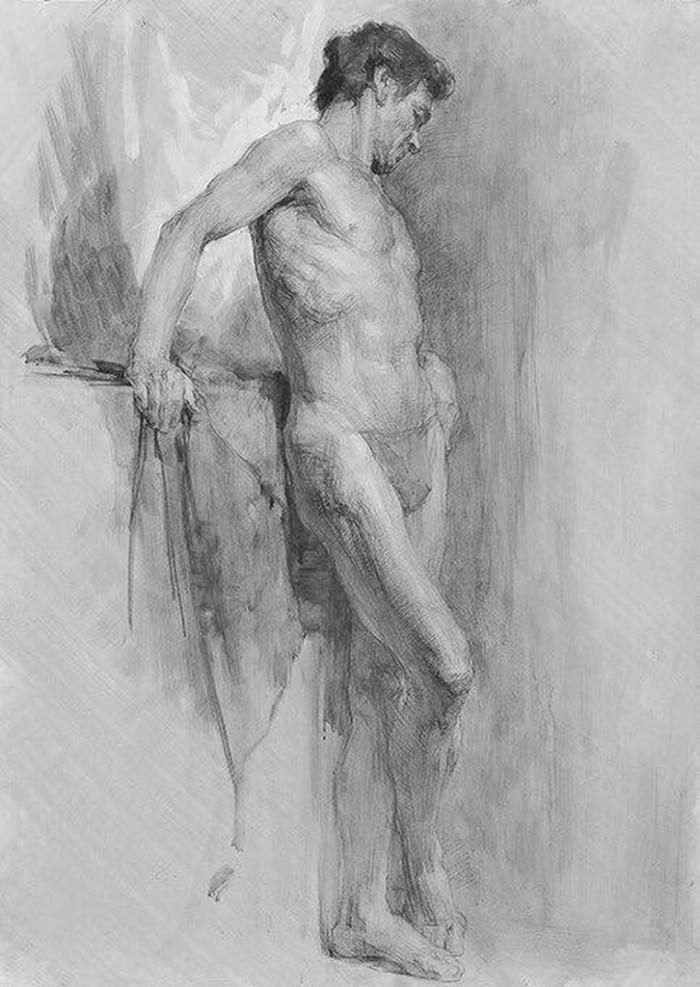 Dibujo Artístico a Lápiz  Figura-humana-lapiz-dibujos-artisticos_05