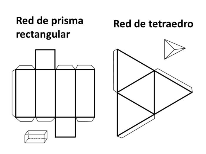 Cuerpos Geométricos: con nombres, para armar, colorear e imprimir ...