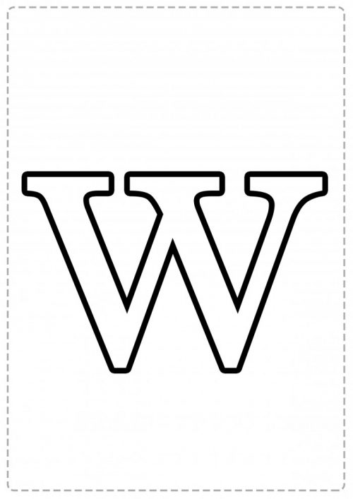 Moldes De Letras Grandes Para Imprimir Mayúsculas Y Minúsculas